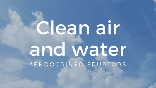Clean air and water