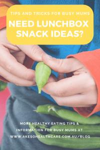 Back-to-school healthy lunchbox snack ideas