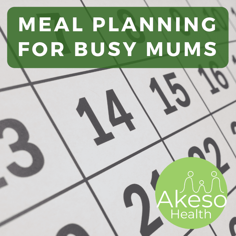 Meal Planning Tips for Busy Mums