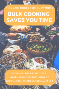 bulk cooking saves you time and money